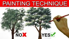 Do's and Don't on Painting a Tree by JM Lisondra
