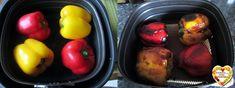 Stuffed Peppers, Vegetables, Food, Stuffed Sweet Peppers, Hoods, Vegetable Recipes, Meals, Stuffed Pepper, Veggies