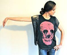 Trash To Couture: DIY. Fringe Sleeve/Seam Tee