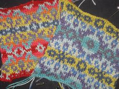 """#Knitting_Tutorial - """"Picking colors for Fair Isle - This is an excellent article on deciding which colors to use when knitting Fair Isle. Useful for other fiber techniques too!"""" comment via #KnittingGuru"""
