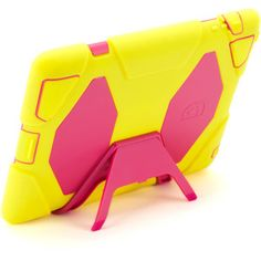 Griffin Survivor Carrying Case for iPad, Pink/Citron