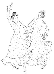 Raquel Lopez Flamenco Costume Designs