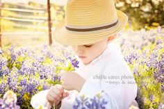 Bluebonnet pics...he might look at me crazy, but I shall try!!