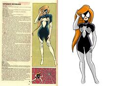 The Official Handbook to the Marvel Universe - REDUX Edition: SPIDER-WOMAN by Joel Carroll