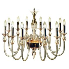 Amber Murano Glass Twelve-Arm Chandelier   From a unique collection of antique and modern chandeliers and pendants at https://www.1stdibs.com/furniture/lighting/chandeliers-pendant-lights/