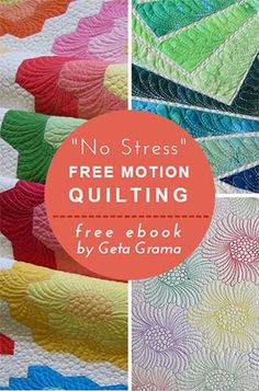 Geta's Quilting Studio: Free Motion Quilting Tips II