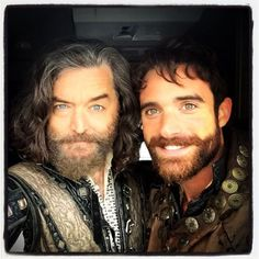 Timothy Omundson and Joshua Sasse-Galavant ABC