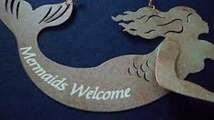 welcome sign Mermaid Bathroom, Welcome, Sign, Bottle, Decor, Decoration, Flask, Signs, Decorating
