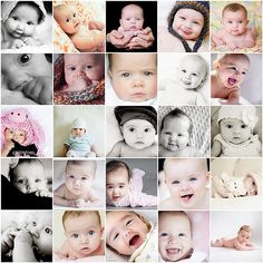 inspiration for 3 month photo shoot