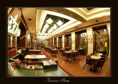 Cafe Slavia is an original Czech Restaurant and Coffee shop which was a hangout for many Czech artists and writers such as Toyen, Capek, Kafka and man others, It is located across the street from the beautiful National Theater. http://www.prestigepraguetours.com
