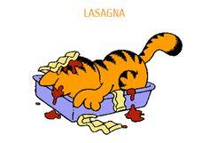 (Vegan) Lasagna Fit for Garfield Garfield Cartoon, Garfield And Odie, Garfield Comics, Cat Cartoons, Garfield Birthday, I Hate Mondays, Cat Feeding, Fat Cats, Memories