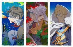 Manga Boy, Touken Ranbu, Aesthetic Art, Anime Art, Fandoms, Princess Zelda, Illustration, Artist, Pictures