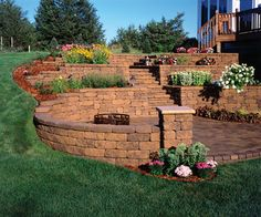 Retaining Walls - traditional - landscape - Versa-Lok Retaining Wall Systems