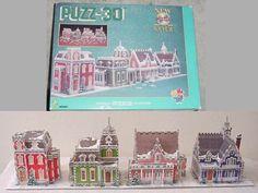 wrebbit 3d puzzle Victorian Avenue w/ 1008 pcs