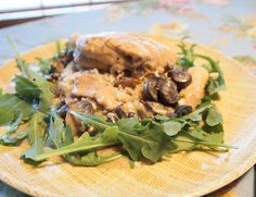 Slow Cooker Mushroom Chicken | SarahCupcake