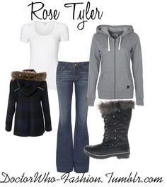 """""""Rose Tyler"""" by doctor-who-fashion ❤ liked on Polyvore"""