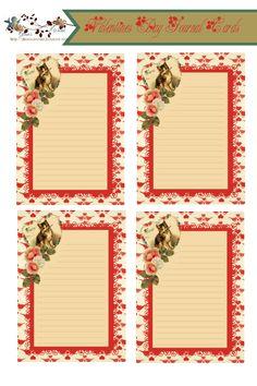 glenda's World : Valentine Journal Card Printables