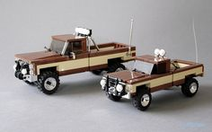 Lego Fall Guy Vehicles