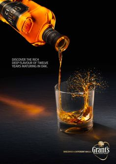 GRANT'S 12: DISCOVER A MORE COMPLEX WHISKY by Luke White, via Behance