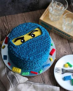"""160 Likes, 8 Comments - Edibles Bake Shop • Serene T. (@ediblesbakeshop) on Instagram: """"Big boys get their Ninjago too! This one went to the celebration of not 1 but 3 birthday boys! . .…"""""""