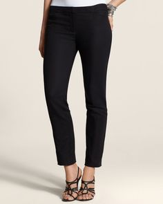Chico's Women's So Slimming Smooth Stretch Ankle Pants