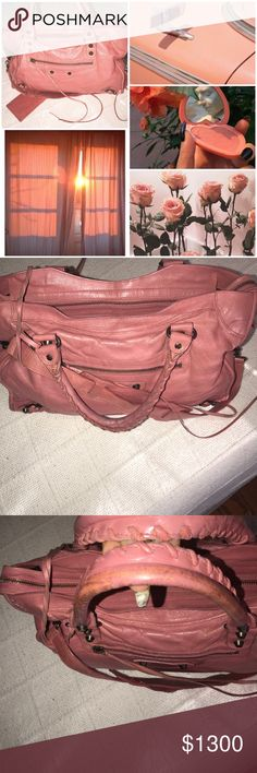 Balenciaga Classic City bag Balenciaga classic bag. This bag is is in excellent condition. Not willing to trade unless doe w Chanel or LV NF or Gucci Soho please If don't have those bags don't ask. Selling otherwise. Not anxious or desperate to trade so don't offer me bags you think I want. Balenciaga Bags Totes