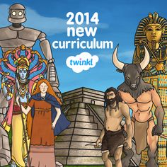 New 2014 National Curriculum Resources - Twinkl School Resources, Teaching Resources, Teaching Ideas, Interactive Activities, Learning Activities, Legends For Kids, Classroom Organisation, Classroom Management, National Curriculum