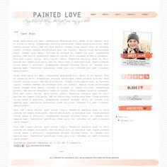 Awesome blogger layout