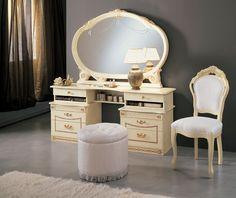 Bedroom Vanity With Lights Wm Homes Bedroom Vanity With Lights, Small Bedroom Vanity, Bedroom Vanities, Contemporary Bedroom, Modern Bedroom, Girls Bedroom, Bedroom Decor, Classic Bedroom Furniture, Bedroom Pictures