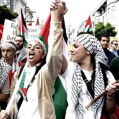 Femmes en lutte en 95 superbes photos - Palestine