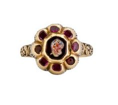 BAROQUE GEMSTONE RING