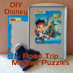 Step-by-step instructions for creating magnetic puzzles