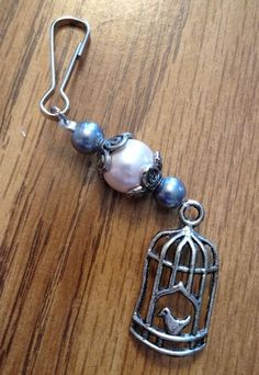 DIY Beaded Earrings and Zipper Pulls