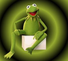That's Kermit, Kermit the Frog........