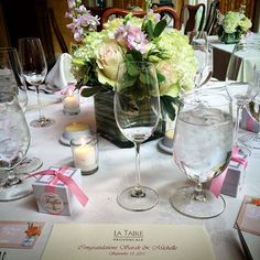Getting ready for Sarah & Michelle's wedding reception! #weddings #laubergeprovencale #shenandoahvalleyinn #vabedandbreakfast