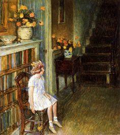 Frederick Childe Hassam 'Clarissa' 1912
