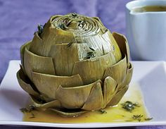 Cooking with fresh artichokes is easier than you think! Try our simple, step-by-step recipes for delicious side dishes, appetizers, and healthy snacks Healthy Snacks, Healthy Eating, Healthy Recipes, Easy Recipes, Bariatric Recipes, Healthy Cooking, Healthy Tips, Clean Eating, Vegetable Side Dishes