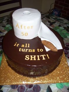 50th Birthday Cake Funny Cakes Party