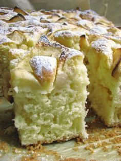 Polish Desserts, Polish Recipes, Cookie Desserts, Apple Cake Recipes, Baking Recipes, Dessert Recipes, Delicious Desserts, Yummy Food, Kolaci I Torte
