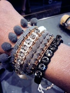 Mix Combination Bracelets Sissi Hand of my special customer in Trieste. Thank You