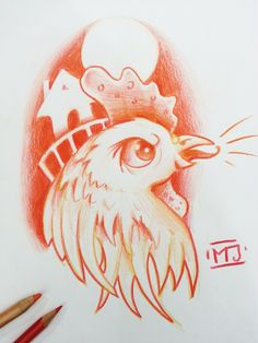 #gallo #cock #fattoria #cartoon #sketch #sketchcartoon #flash #drawing #illustrationi #disegni #arte #flashtattoo #illustrationitattuaggi #tattoo #tatuaggi #mrjacktattoo
