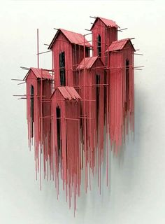 New architectural sculptures by David Moreno appear as three-dimensional drawing. - New architectural sculptures by David Moreno appear as three-dimensional drawings – Architecture - Cultural Architecture, Architecture Art, Installation Architecture, Spanish Architecture, Sculpture Ornementale, Sculpture Ideas, Art Sculptures, Abstract Sculpture, Architectural Sculpture
