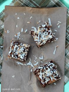 Magic Bar Fudge #recipe #coconut #chocolate #butterscotch #sweets
