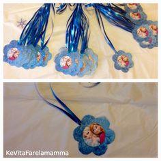Compleanno a tema Frozen e coroncine di follia ~ KeVitaFarelamamma | Che vita fare la mamma tra emozioni, letture e lavoretti per bambini