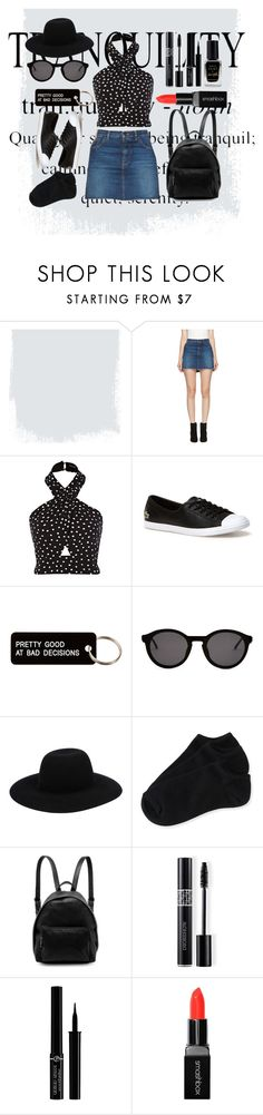 """TRANQUILITY"" by liahxxxx ❤ liked on Polyvore featuring Yves Saint Laurent, Lacoste, Various Projects, Thierry Lasry, Off-White, Aéropostale, STELLA McCARTNEY, Christian Dior, Giorgio Armani and Smashbox"