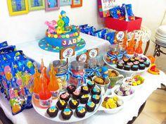 Pocoyo Dessert Table