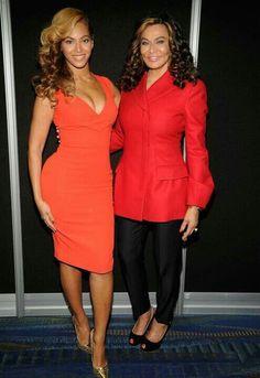 Mother and daughter, Tina & Beyonce