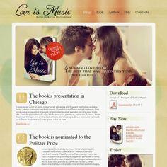 Book Reviews Premium Moto CMS HTML Template