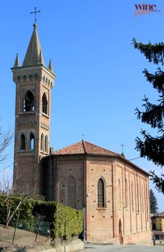 Wine Pass - Canelli - Church of San Antonio in the territory of Canelli, Piemonte (Italy)
