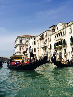 What's a trip to Venice without going on a Gondola ride?